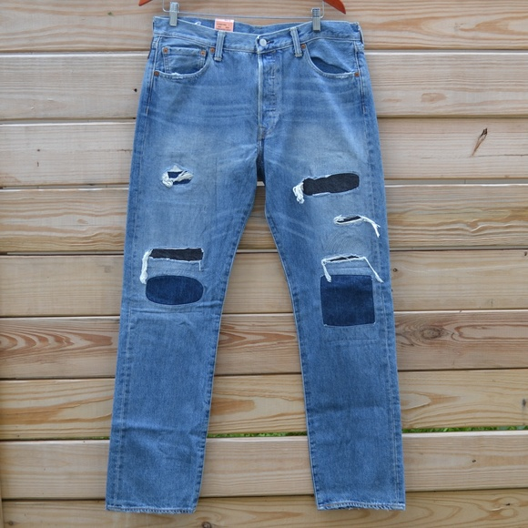 8ef13dd0f70 Levi's Jeans | Levis 501 Original Fit Button Fly Distresse | Poshmark